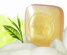 ニキビ予防に透明石鹸